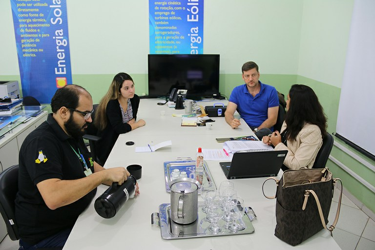 Polo de Inovação recebe visita de diretora do IFRJ