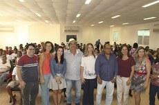 O evento contou com a participação de representantes da prefeitura e do IFF.