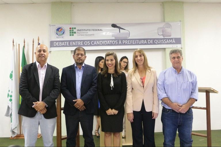 Debate entre os candidatos à prefeitura de Quissamã mobiliza comunidade