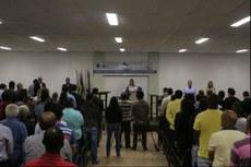 O debate aconteceu no auditório do campus com a participação de 200 pessoas.