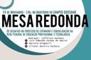 EXPANSÃO E CONSOLIDAÇÃO DA REDE FEDERAL DE EDUCAÇÃO ESTARÁ EM DEBATE NO CAMPUS QUISSAMÃ