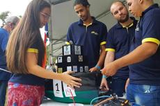 A equipe Quissaboat, único time formado por estudantes de nível técnico, se destacou com a construção de embarcação por impressão 3D.