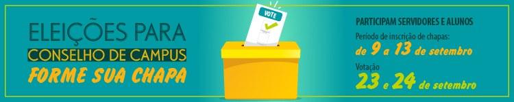 Eleição para Conselho de Campus biênio 2019-2021