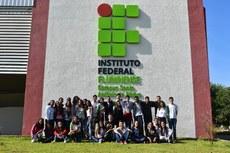 Equipe de produção do jornal IFFolha.