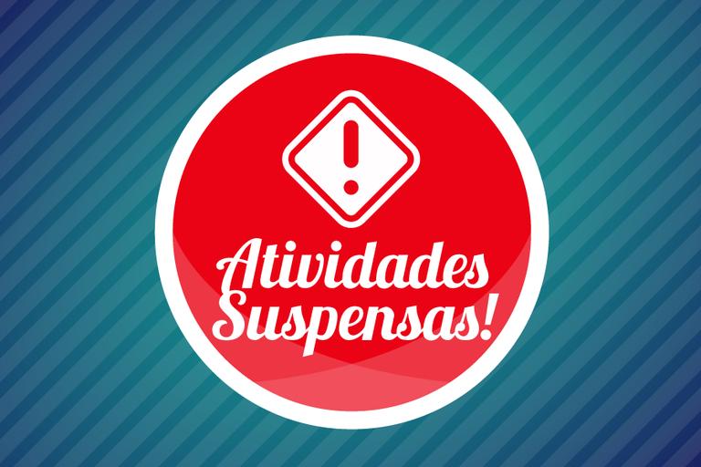 Atividades suspensas no Campus Santo Antônio de Pádua
