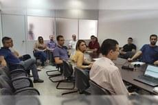 O diálogo contou com a participação da comissão local de PDI e integrantes da gestão do campus.