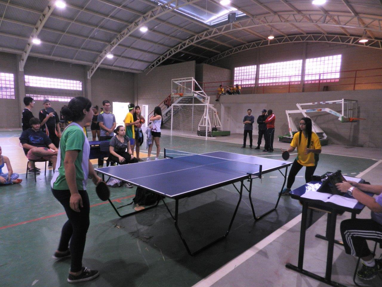 Campus Pádua sedia etapa de Tênis de Mesa do JINIFF