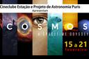 Cineclube e Projeto de Astronomia promovem exibição da série Cosmos no Campus Pádua