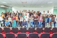 Alunos do curso de Verão e Servidores participaram da abertura das capacitações, no dia 20 de janeiro de 2020.