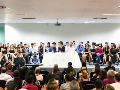 Ao todo, 50 alunos concluíram os Cursos Técnicos Integrados em Administração, Edificações e Automação Industrial
