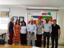 Equipe Gestora do IFF Pádua na Sede da Empresa Copapa em Santo Antônio de Pádua