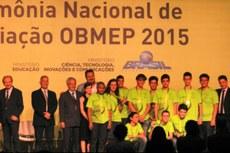 Estudantes receberão premiação no Rio de Janeiro.