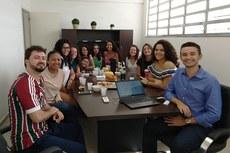 No dia 12 de abril, a direção-geral do Campus Pádua se reuniu com a equipe para um bate papo sobre as emoções e expectativas em torno dos jogos.