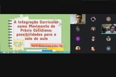 Professores e técnicos-administrativos participaram do encontro, que aconteceu pela internet