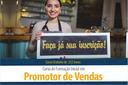 Inscrições abertas para Curso Profissionalizante de Promotor de Vendas no IFF Pádua