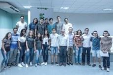 Nova composição do grêmio estudantil de Pádua, junto com Arthur Rezende e Carlos Márcio Viana.