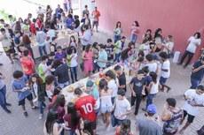 Prefeitura realiza café de confraternização para alunos aprovados no IFF Pádua