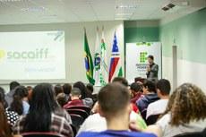 Abertura do SACAIFF, com palestra do reitor do IFF, Jefferson Manhães de Azevedo