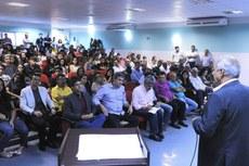 Evento homenageou o deputado federal Luis Sérgio de Oliveira, que destinou a emenda parlamentar ao Campus Pádua.