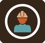 Ícone oficial do Curso Técnico em Segurança do Trabalho.