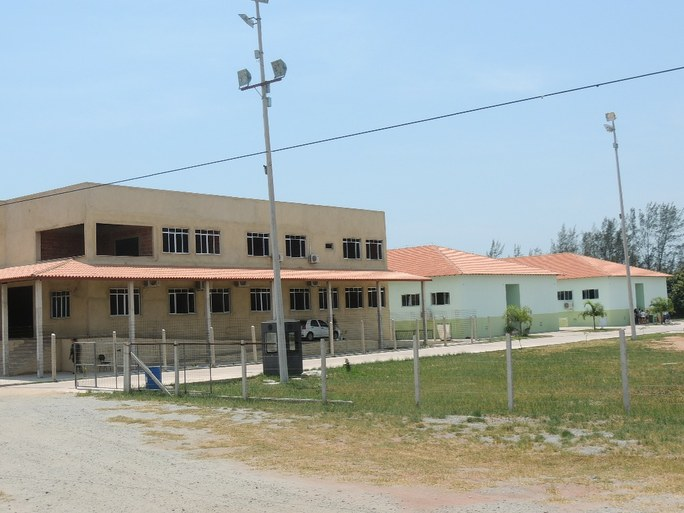Área externa do campus SJB