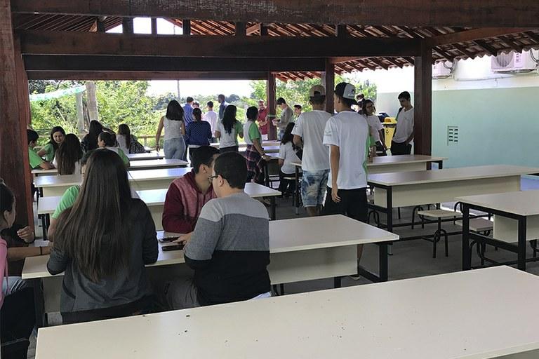 Campus São João da Barra inaugura espaço para alimentação de estudantes e servidores