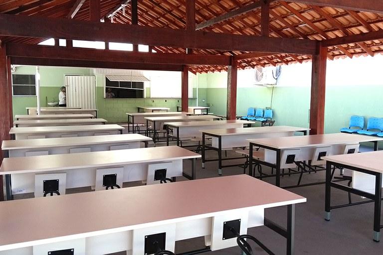 Campus São João da Barra inaugura espaço para alimentação