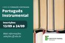 Campus São João da Barra oferta Curso de Formação Continuada em Português Instrumental