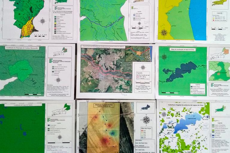 Curso de Formação Inicial e Continuada (FIC) em Geoprocessamento