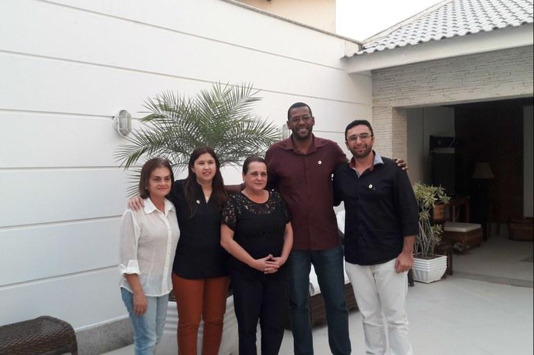 Gestores do IFF São João da Barra reúnem-se com prefeitas