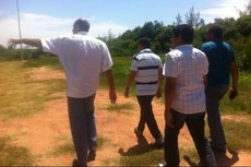 Prefeito Neco e alguns gestores do município de São João da Barra visitam o campus do IFF.