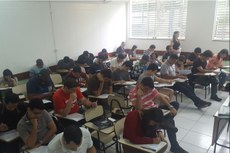 Prova foi aplicada no Campus Campos Centro.