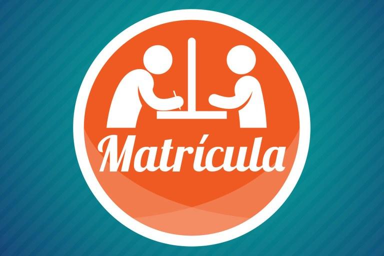 Banner Matrícula