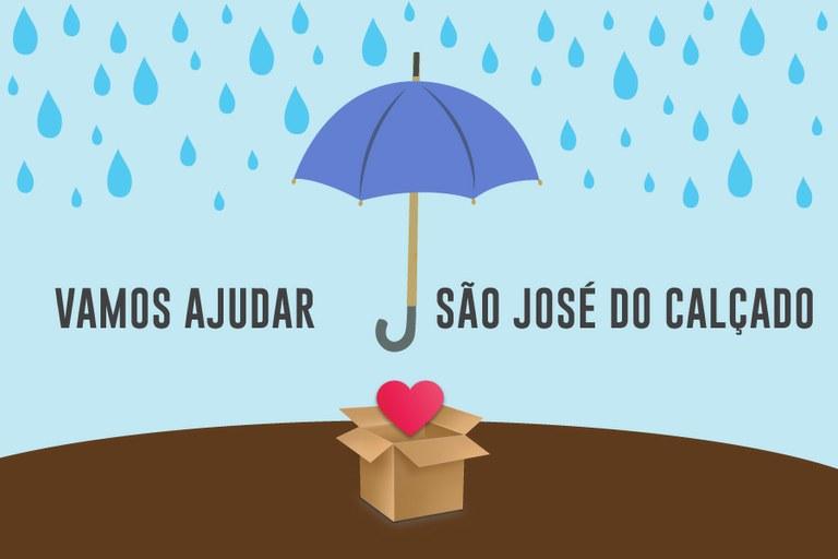Apoio à população de São José do Calçado