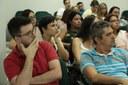 Servidores tiveram espaço para fazer questionamentos e sugestões.