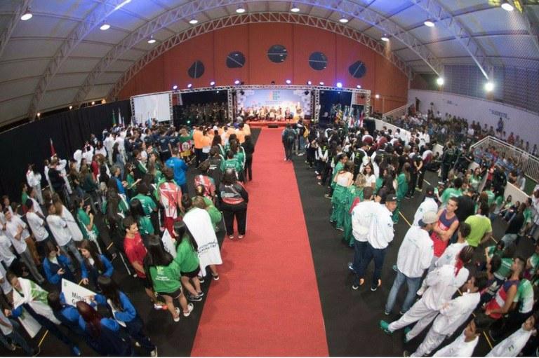 Cerimônia de Abertura do JIF Nacional