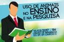 Comissão de Ética no Uso de Animais do IFFluminense promove palestra