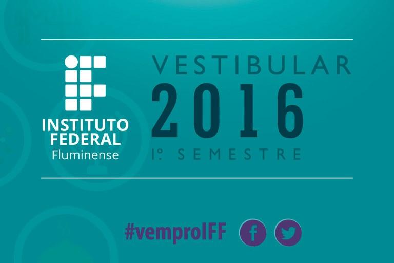 Vestibular 2016/1º semestre