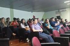 A palestra contou com a participação de alunos do Mestrado e da Pós-graduação