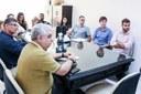 Dirigentes recebem visita de deputado federal eleito Wladimir Garotinho