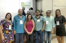 Da esquerda para a direita: Mônica Souto, Marcos Cruz, Simone Vasconcelos, Adelson Siqueira, José Augusto Ferreira e Gilmara Barcelos.