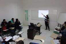 O curso foi ministrado pela servidora Gisele Tramont