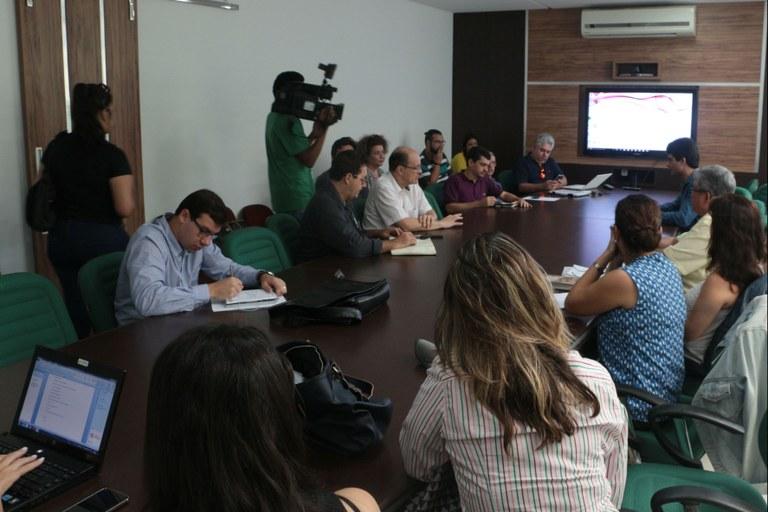 Fidesc recebe imprensa para apresentar debate com os candidatos à prefeitura de Campos