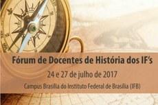 I Fórum de Docentes de História