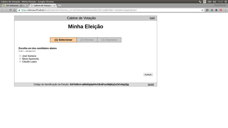 IFFluminense implanta sistema de votação online