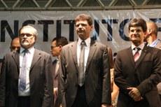 Luiz Augusto, Marcelo Féres e Jefferson Manhães