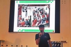 O professor Daniel Coelho Ferreira, do Campus Bom Jesus, também relatou sua experiência e abordagens pedagógicas.