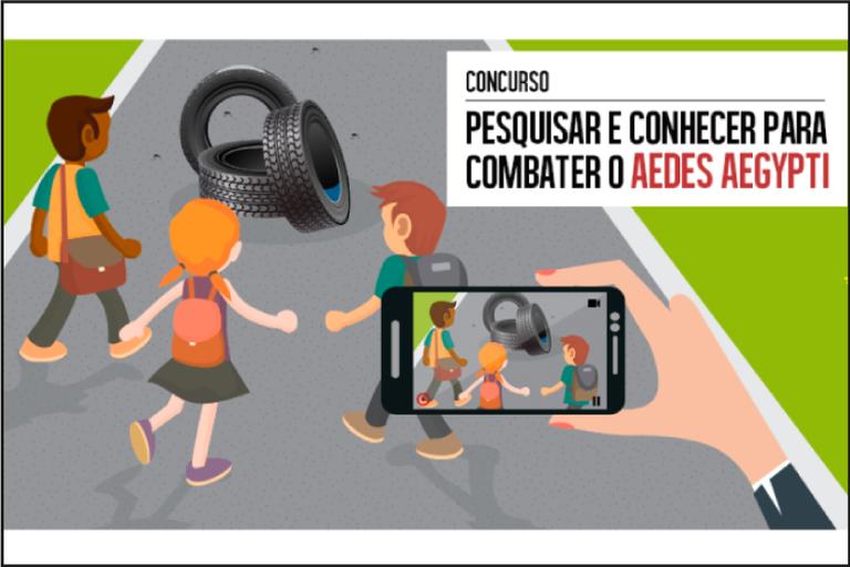 MEC promove concurso de vídeo sobre pesquisa para conhecer e combater o Aedes aegypti