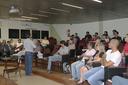 Reitor recepciona novos alunos do Saeg
