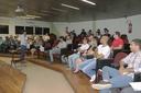 Reitor Jefferson Manhães recepciona novos alunos do Saeg